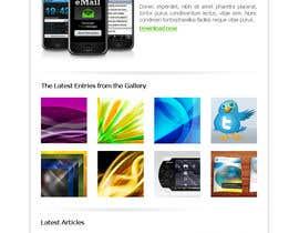 Nro 3 kilpailuun Design email campaign käyttäjältä rzlrip
