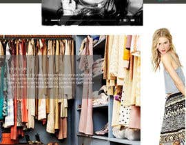 #5 for Design a Website Mockup for Clothes online shop af codeunderground