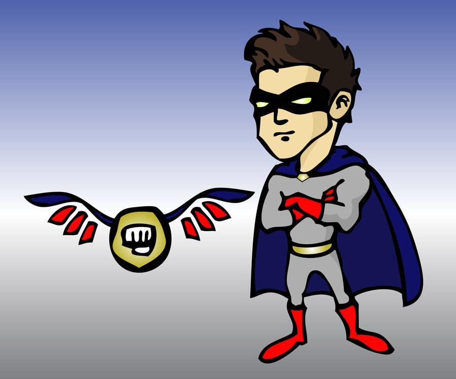 Bài tham dự cuộc thi #                                        9                                      cho                                         Design an awesome vector logo for a superhero character -