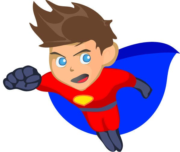 Bài tham dự cuộc thi #                                        19                                      cho                                         Design an awesome vector logo for a superhero character -