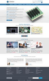 abcdNd tarafından Design a Website Front Page için no 17