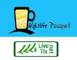 #7 para Design a Logo for Nightlife Passport & LiveTix.net por Donvino