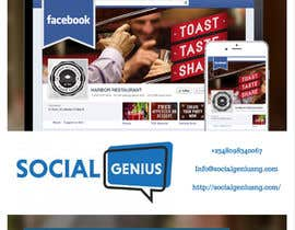 Nro 3 kilpailuun Social Media Marketing Flyer käyttäjältä rahul1601
