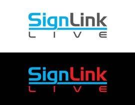 Nro 27 kilpailuun Sign Link Live käyttäjältä Khandesign11