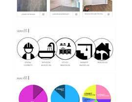 Nro 6 kilpailuun Design A Webpage Mockup käyttäjältä MadniInfoway01