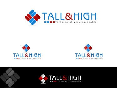 "crazenators tarafından Design a Logo for ""Tall & High"" için no 17"