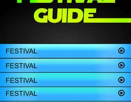 jagadeeshrk tarafından Graphic Design for Music Festival Guide (iPhone Application) için no 13