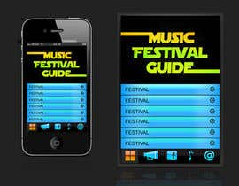 nº 15 pour Graphic Design for Music Festival Guide (iPhone Application) par jagadeeshrk