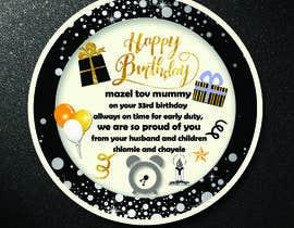 reshmihalder tarafından I need some Graphic Design for a birthday cake için no 4