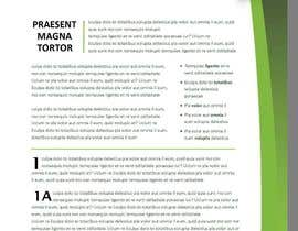 #22 para Design some Stationery for a Proposal Agreement por conficash