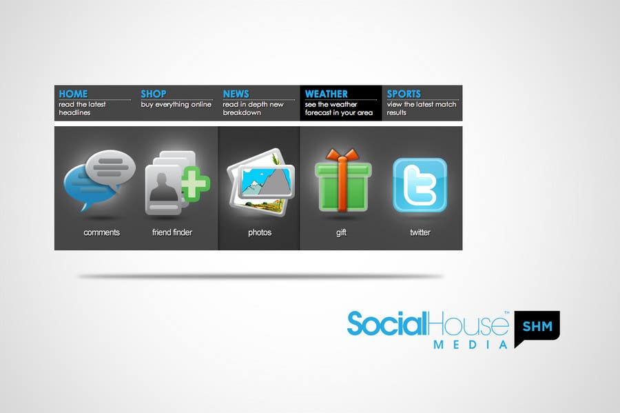 Contest Entry #                                        4                                      for                                         Graphic Design for Widget Menu Redesign (Simple Graphic) Icons provided