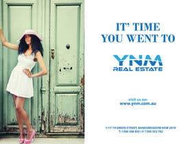 Nro 22 kilpailuun Design an Advertisement for YNM Real Estate käyttäjältä yiama