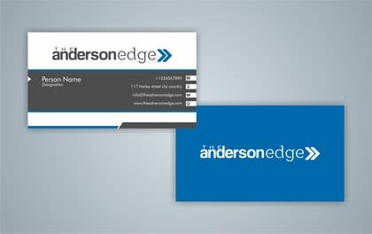 nº 47 pour Logo for The Anderson Edge par nomi2009