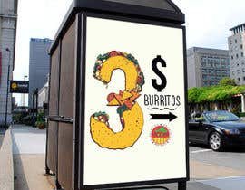"#15 para Design an Advertisement ""3 Burritos"" de wahala"