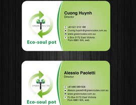 #39 for Design some Business Cards green routes by AllGraphicsMaker