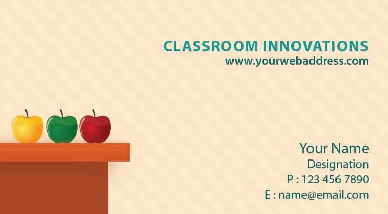 Bài tham dự cuộc thi #12 cho Design some Business Cards for Classroom Innovations