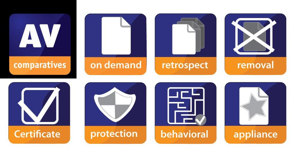 Penyertaan Peraduan #                                        4                                      untuk                                         Graphic Design for AV-Comparatives e.V.  ICONS needed