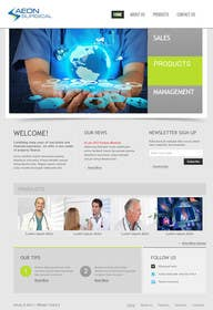 #5 para Build a Website for AEONSurgical por zicmedia