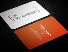 smartghart tarafından Design Business Cards for Ion Programming için no 65