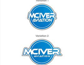 nº 97 pour Design a Logo for McIver Aviation par entben12