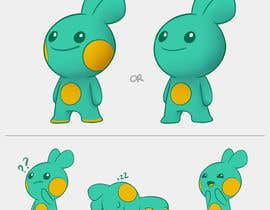 "Nro 92 kilpailuun We are making a new children's app and need a super cute, highly adorable and unique anime style ""animal character"" design (or illustration) that we can turn into a new 3d character in the app named Bedo. Bedo needs to be able to run, jump and play with i käyttäjältä miqeq"