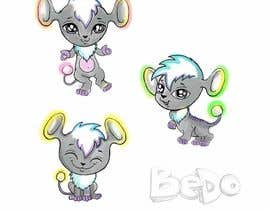 "Nro 61 kilpailuun We are making a new children's app and need a super cute, highly adorable and unique anime style ""animal character"" design (or illustration) that we can turn into a new 3d character in the app named Bedo. Bedo needs to be able to run, jump and play with i käyttäjältä alisadesigner"