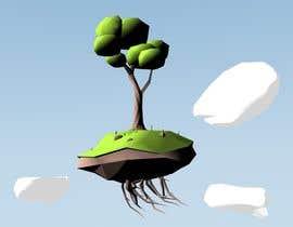 issevin tarafından 3D Low Poly Landscape with a nice Tree için no 7
