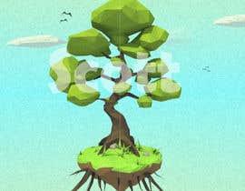 ScottContina tarafından 3D Low Poly Landscape with a nice Tree için no 12