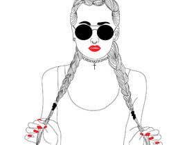 Nro 47 kilpailuun Create Illustration Outline of Girl in Bikini käyttäjältä Ginadac