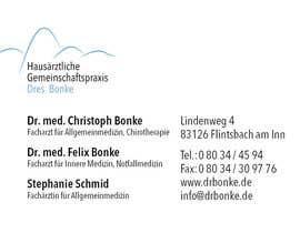 Aboosh tarafından Add a name to a business card için no 8