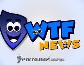 Nro 30 kilpailuun Design a logofor WTF News käyttäjältä parrajg17