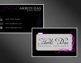 #58 cho Design a business card bởi vansh9870