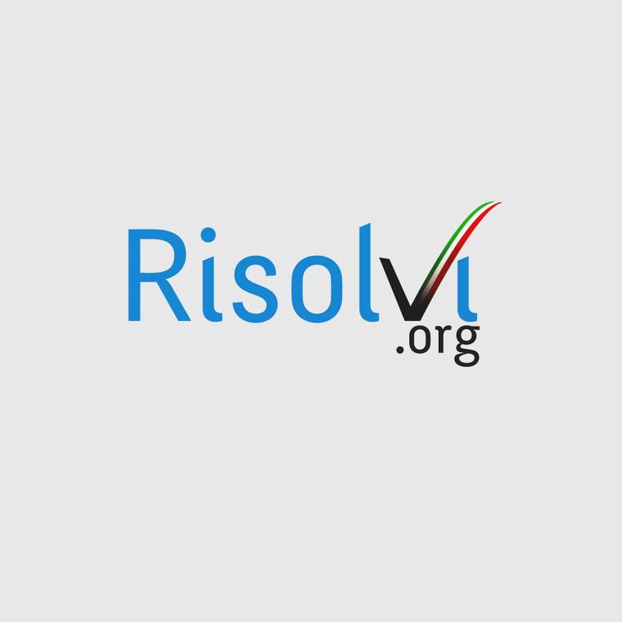 Konkurrenceindlæg #35 for RISOLVI.ORG