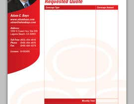 #35 for Stationery Design for State Farm Insurance af designbykl