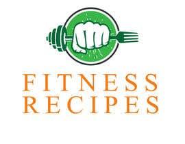 Nro 17 kilpailuun Design a Logo for Fitness Recipes käyttäjältä salmandalal1234