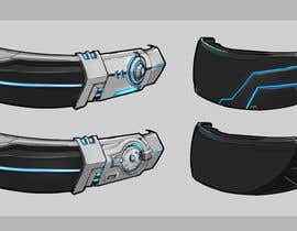 #9 for Design a Sci-Fi Visor / Eyewear by floresnone
