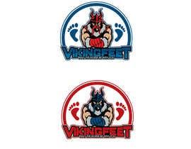 Nro 55 kilpailuun Logo for VIKINGFEET käyttäjältä icechuy22