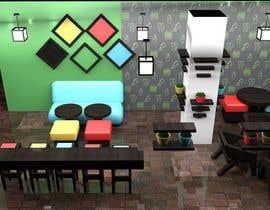 Nro 2 kilpailuun 3D Interior Design for Food Store käyttäjältä farkasbenj