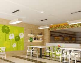 Nro 34 kilpailuun 3D Interior Design for Food Store käyttäjältä khmamun50