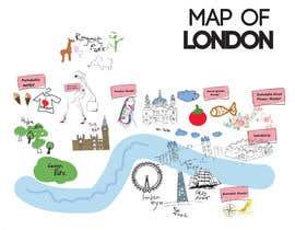 Nro 5 kilpailuun London Market Map käyttäjältä minastudio