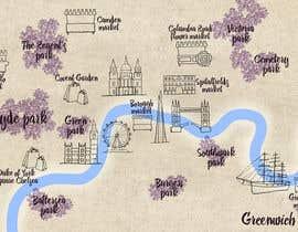 Nro 16 kilpailuun London Market Map käyttäjältä pencey
