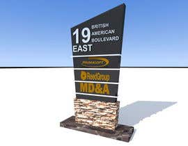 #17 para Office Building Tenant Identity Sign por SaiSengMain