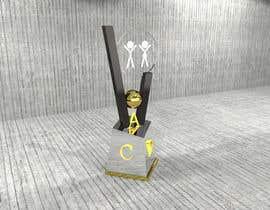 nº 26 pour Do some 3D Modelling and design for a trophy par SaiSengMain