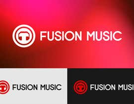 #237 para Logo Design for Fusion Music Group por Lozenger