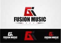 Bài tham dự #23 về Graphic Design cho cuộc thi Logo Design for Fusion Music Group