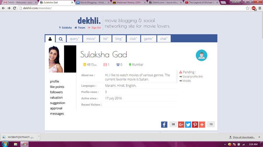 Entry #1 by sulaksha82 for Movie Blogging - Hindi, Punjabi