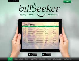 #3 cho Design a Website Mockup for BillSeeker.Com bởi asad12204