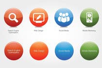 #68 for Button Design for Homepage Icons by alexisco
