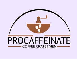Nro 78 kilpailuun Design a Logo for a small coffee roasting business in New Zealand called Procaffeinate käyttäjältä VeronicaArt
