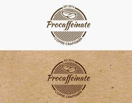 Nro 82 kilpailuun Design a Logo for a small coffee roasting business in New Zealand called Procaffeinate käyttäjältä jiamun